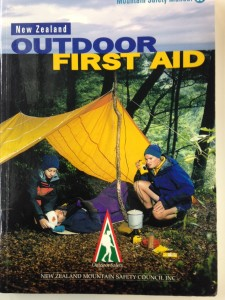 First Aid Booklet cover